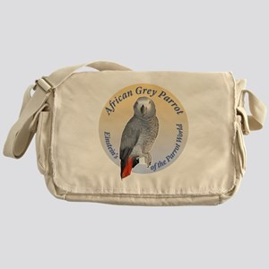 Einstein of the Parrot World (Africa Messenger Bag