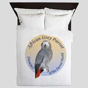 Einstein of the Parrot World (African  Queen Duvet