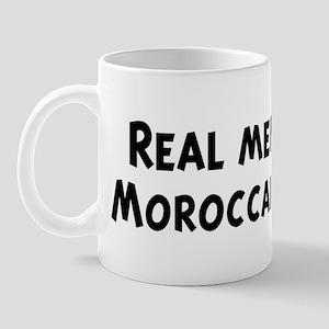 Men eat Moroccan Food Mug