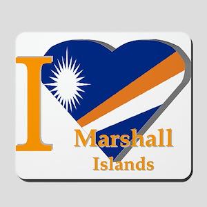 I love Marshall Islands Mousepad