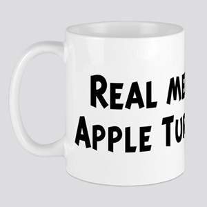 Men eat Apple Turnovers Mug