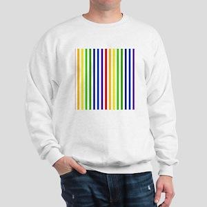 Retro Rainbow Stripes Sweatshirt