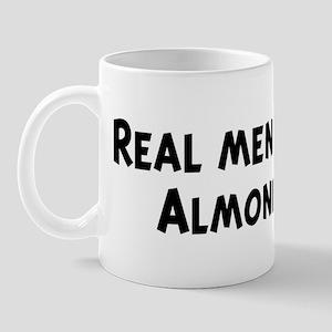 Men eat Almonds Mug