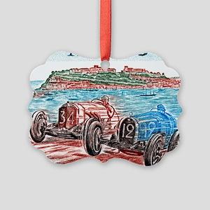 Vintage 1979 Monaco Grand Prix Ra Picture Ornament