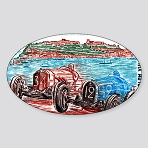Vintage 1979 Monaco Grand Prix Race Sticker (Oval)