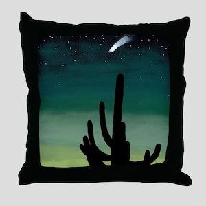 Shooting Star Throw Pillow
