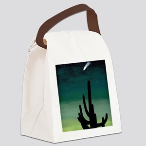 Shooting Star Canvas Lunch Bag