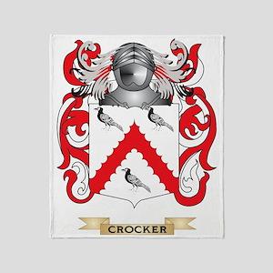 Crocker Coat of Arms Throw Blanket
