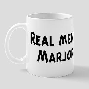 Men eat Marjoram Mug