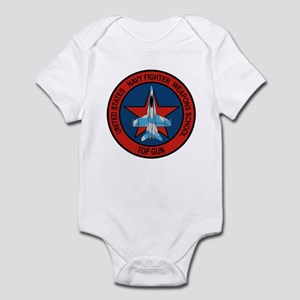 US Navy Fighter Weapons Schoo Infant Bodysuit
