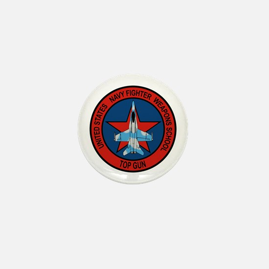 US Navy Fighter Weapons Schoo Mini Button