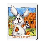 Cute Cartoon Rabbit Mousepad