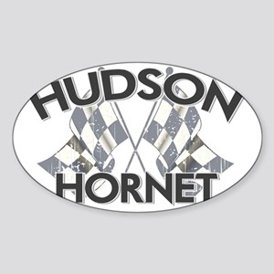 HUDSON HORNET copy Sticker (Oval)