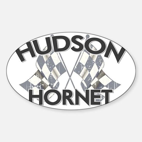 HUDSON HORNET copy Sticker (Oval)