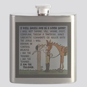 I Am The Trainer Flask