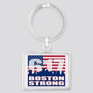 Boston Strong Landscape Keychain