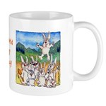 Funny Rabbit Art Mug