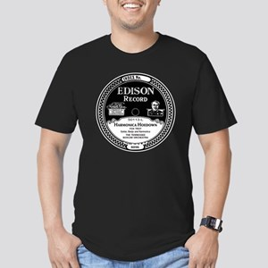Harmonica Hoedown Edis Men's Fitted T-Shirt (dark)