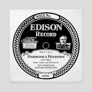 Harmonica Hoedown Edison Record label Queen Duvet