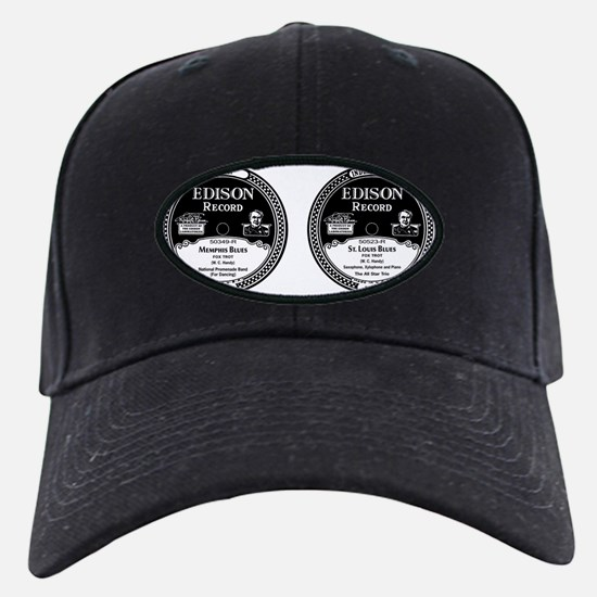 Edison Blues Records Baseball Hat