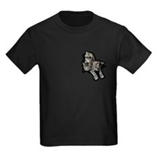 Pocket Kittens Kids Dark T-Shirt