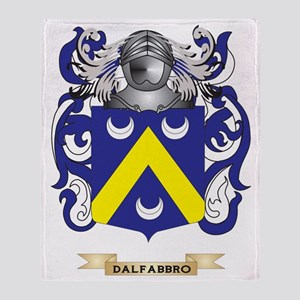 Dales Coat of Arms Throw Blanket
