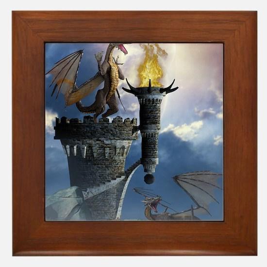 Dragon Land 2 Framed Tile