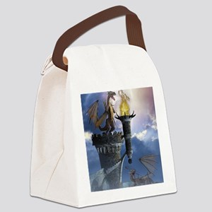 Dragon Land 2 Canvas Lunch Bag