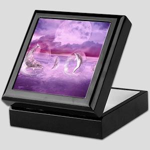 Dream Of Dolphins Keepsake Box
