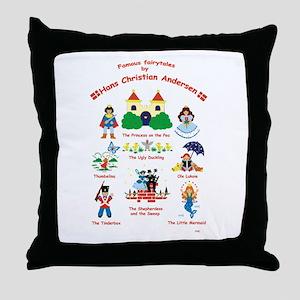 fairy tales Throw Pillow