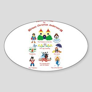 fairy tales Oval Sticker