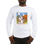 Funny Rabbit Art Long Sleeve T-Shirt