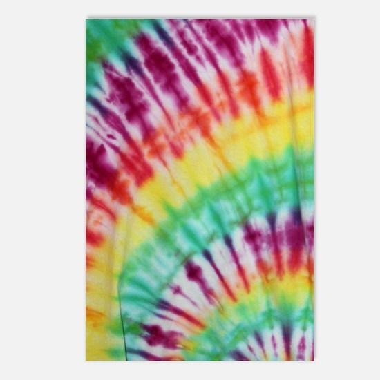 Tie Dye Design  Postcards (Package of 8)
