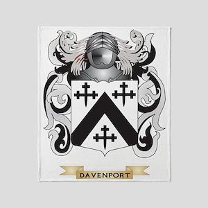 Davenport Coat of Arms Throw Blanket