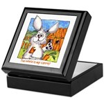 Funny Rabbit Art Keepsake Box