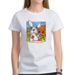 Funny Rabbit Art Women's T-Shirt