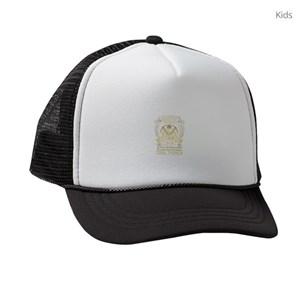 4033b2ef814 Coal Miner Kids Trucker Hats - CafePress