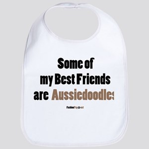 Aussiedoodle dog Bib