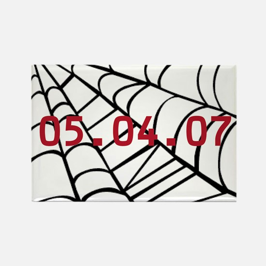 Spiderman Release Date Rectangle Magnet