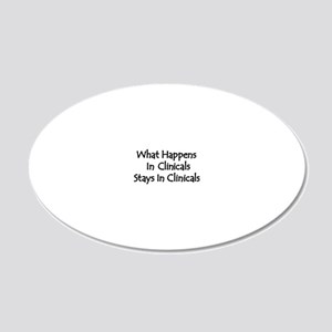 Medical Student 20x12 Oval Wall Decal