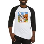 Cute Cartoon Rabbit Baseball Jersey