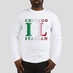 Chicago Italian Long Sleeve T-Shirt