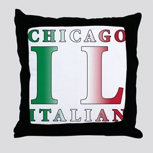 Chicago Italian Throw Pillow