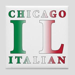 Chicago Italian Tile Coaster
