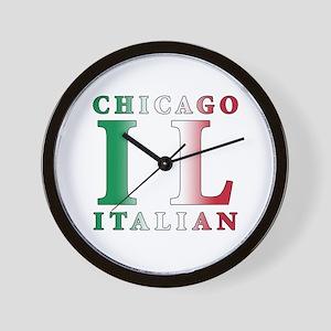 Chicago Italian Wall Clock