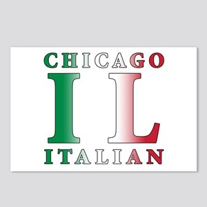 Chicago Italian Postcards (Package of 8)