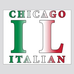 Chicago Italian Small Poster