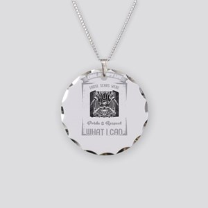Coal Miner Clothing Necklace Circle Charm