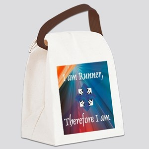 iamrunner1 Canvas Lunch Bag