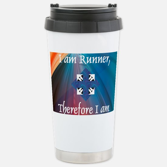 iamrunner1 Stainless Steel Travel Mug